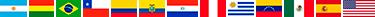 Banderas de los Países que vendemos